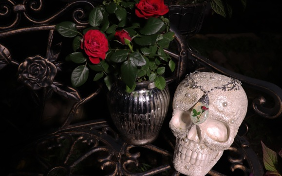 Red roses were likely in the gardens of many during the Gothic period